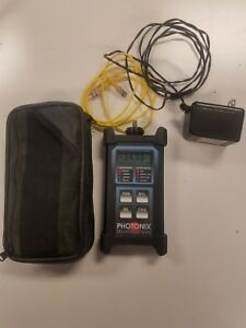 Photonix Technologies Px B200 Laser Optical Power Meter Fiber Optic Testing