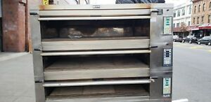 Doyon 4t3 Deck Stone Oven For Artisan Bread Excellent Condition Year 2015 1581