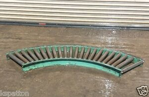 Hytrol 15 X 90 Degree Curve Roller Case Conveyor
