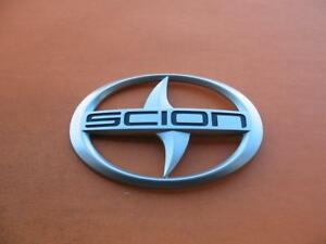 11 12 13 14 15 16 Scion Tc Rear Trunk Lid Center Emblem Logo Badge Sign Oem 5