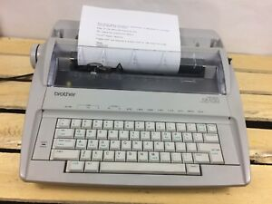 Brother Gx 6750 Electronic Typewriter Without Keyboard Cover