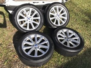 2014 2015 2016 Ford Explorer 20 Oem Wheels And Tires Factory Rims Tpms