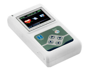 Dynamic Ecg System 24 Hours Ekg Holter Monitor 3 Channel Free Software Usa Fda