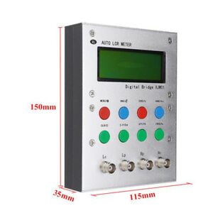 Auto Lcr Digital Electric Bridge Resistance Capacitance Inductance Esr Meter