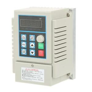 Ac220v 0 45kw Single Phase Adjustable Variable Frequency Speed Drive Inverter Gb