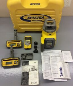 Trimble Ul633 Self Leveling Spectra Precision Laser Receiver Hl750 Rc603 Transit