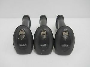 Lot Of 3 Symbol Motorola Ls4278 Wireless Barcode Scanner