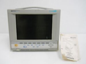 Hp Viridia 24c Model M1204a Patient Monitor