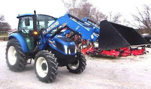 2013 Nh T4 75 Cab 4x4 Loader Low Hrs Ships 1 85 Per Loaded Mile