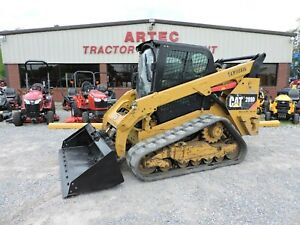 2014 Caterpillar 289d Skid Steer Loader 2 Speed High Flow Hydraulics