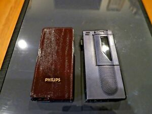 Philips Executive 696 Handheld Cassette Voice Recorder Pocket Memo Dictation
