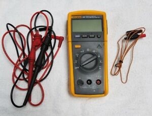 Fluke 233 True Rms Remote Display Digital Multimeter Detachable Tester
