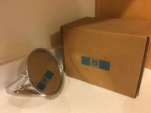 Vintage Pontiac Gm Gto Original Side Mirror In Box From Smoke free Estate Sale
