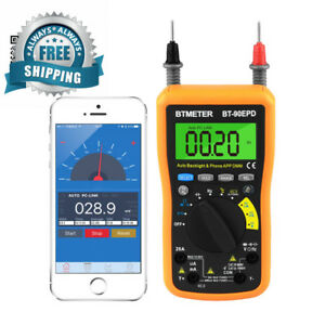 Multimeter Bt 90epd Auto Range Avometer Dmm 4000 Counts With Mobile Phone