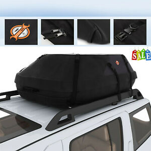 41x35x18 Waterproof Car Cargo Carrier Bag Hitch Mount Luggage Roof Top Rack Us