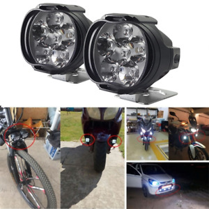 6led Motorcycle Headlight Spot Lights Head Lamp Led Front Dc12v Driving Fu