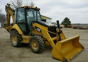 Backhoe Loader Cat 2011 454 Hours 101hp