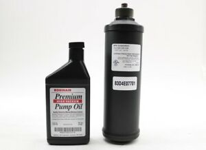 New Robinair Recovery And Recycling Unit Filter Maintenance Kit 13172 16 Oz Oil