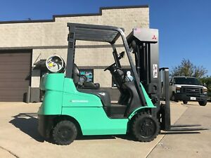 2013 Caterpillar 5000 Pound Lpg Forklift we Will Ship made In Usa l k nicelift