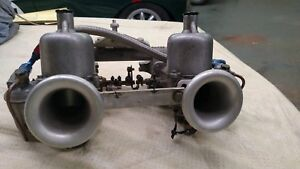 Mga 1 1 2 Inch S U Carburetors With Manifold