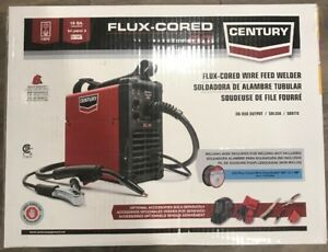 New Century 90 Amp Fc90 Flux Core Wire Feed Welder And Gun 120v