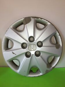 Usedgenuine Honda Accord 15 Wheel Cover Hubcap 2003 2004 Lx 44733 Sda A00 One