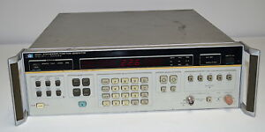 Hp 3325a Synthesizer function Generator W Option 2 used Hewlett Packard