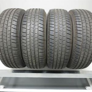 225 65r17 Michelin Defender Ltx M S 102h Tire 10 32nd Set Of 4 No Repairs