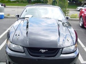 99 04 Ford Mustang Trufiber 3 Cowl Body Kit Hood Tf10023 A49 3