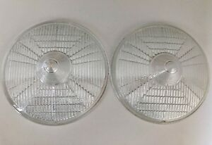 Marchal 660 760 Fog Light Glass Lenses 1965 1966 1967 1968 1969 Original Superb