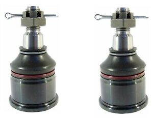 Pair Set 2 Front Lower Suspension Ball Joints Delphi For Honda Prelude 1992 2000