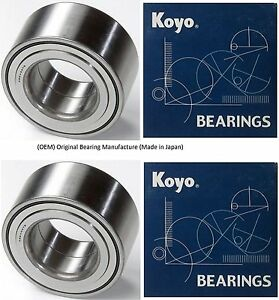 1992 2000 Honda Civic Front Wheel Hub Bearing Dx Cx Hx Oem Koyo Pair