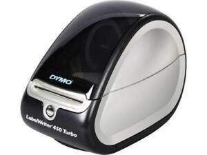 New Dymo High Speed Labelwriter 450 Turbo Label Postage Thermal Printer Pc Mac