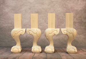 Ball And Claw Legs Bench Legs Coffee Table Legs Set Of 4