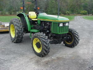 1996 John Deere 5200 4 Wheel Drive Low Hours
