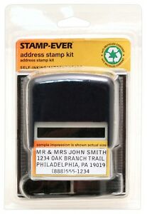 Closeout Opportunity Buy Stamp ever Diy Address Stamp 6194 Incl 18 Stamps