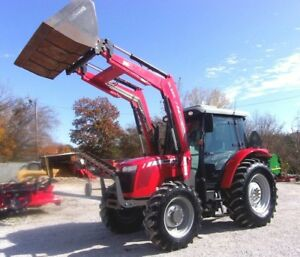 2012 Massey Ferguson 2650hd 4x4 Cab With Mf Loader free 1000 Mile Shipping