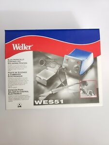 Weller Wes51 Analog Soldering Station New