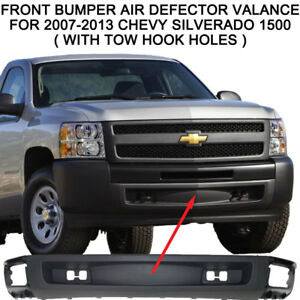 Lower Front Bumper Air Deflector Valance For 2007 2013 Chevy Silverado 1500