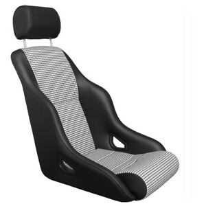 Porsche Rally Gt Sport Seat Leatherette Houndstooth 911 And 912 From 65 To 94