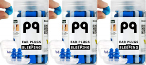 Pq Earplugs For Sleep Ear Plugs For Sleeping Noise Cancelling 32 pack Of 3