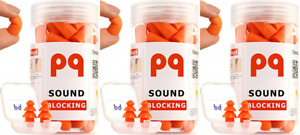 Pq Earplugs For Sleep Comfortable Reusable Ear Plugs For Side pack Of 3