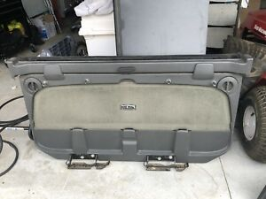 2002 2006 Chevy Avalanche Escalade Ext Midgate Mid Gate Truck Bed Divider Grey