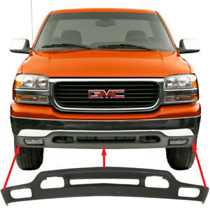Front Bumper Valance For 1999 2000 2001 2002 Gmc Sierra Truck 1500 2500 3500