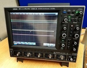 New Teledyne Lecroy Wavesurfer 24mxs b 4 Ch 200mhz Oscilloscope Ships From Usa