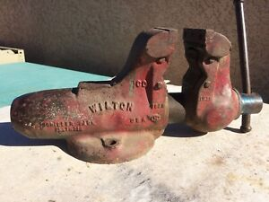 Wilton 3 1 2 Bullet Vise With Pipe Jaws Machinist Mechanic Shop