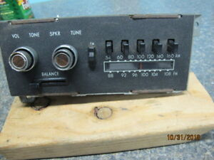 1970 S Mopar Am Fm Radio Nice Original Condition