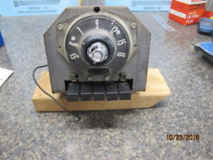 1955 Ford Deluxe Push Button Radio Original Nice Condition Reduced