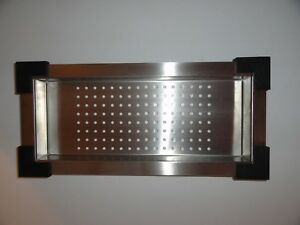 Drip Tray Stainless Steel With Corner Bumpers
