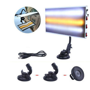Pro Paintless Dent Repair Tools Led Light Hail Removal Car Body Lamp 3 Strips